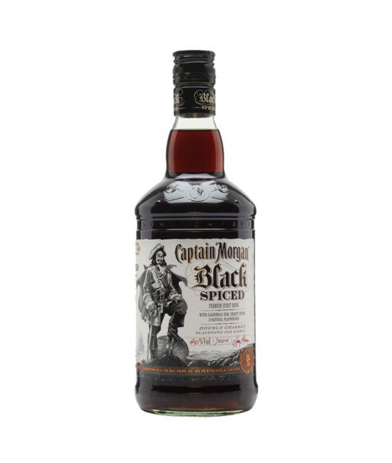 Captain Morgan Black Spiced Rum 75cl