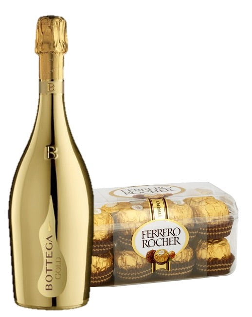 Prosecco & Chocolate Gold Gift Set