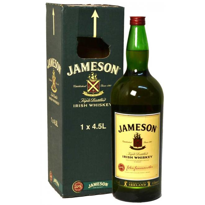 Jameson Irish Whiskey Magmum 4.5L