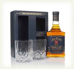 Jim Beam Double Oak Giftset