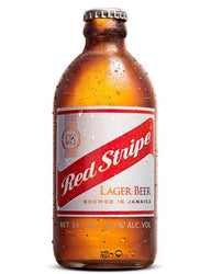 Red Stripe Premium Lager Beer Bottles 24 x 330ml