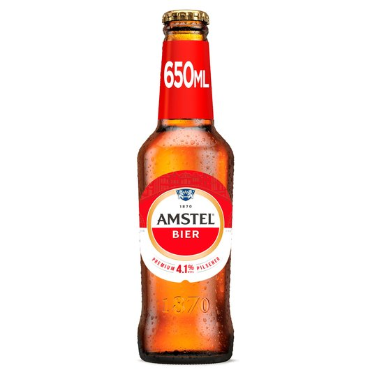 Amstel Bier Premium Lager Bottle 650ml