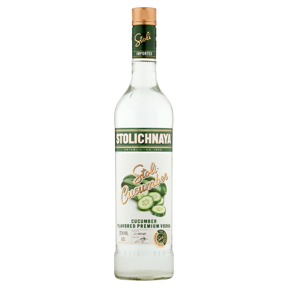 Stolichnaya Cucumber Vodka 70cl