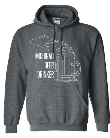 Unisex Adult Hooded Sweatshirt With MBD Logo
