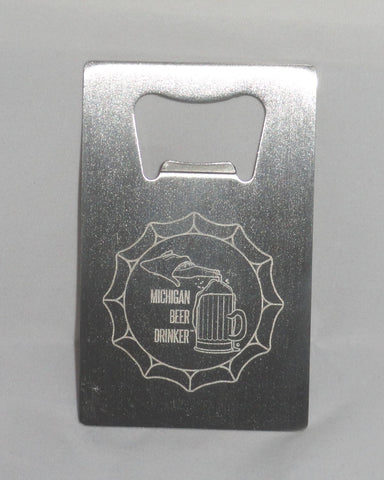 MBD Credit Card Bottle Opener