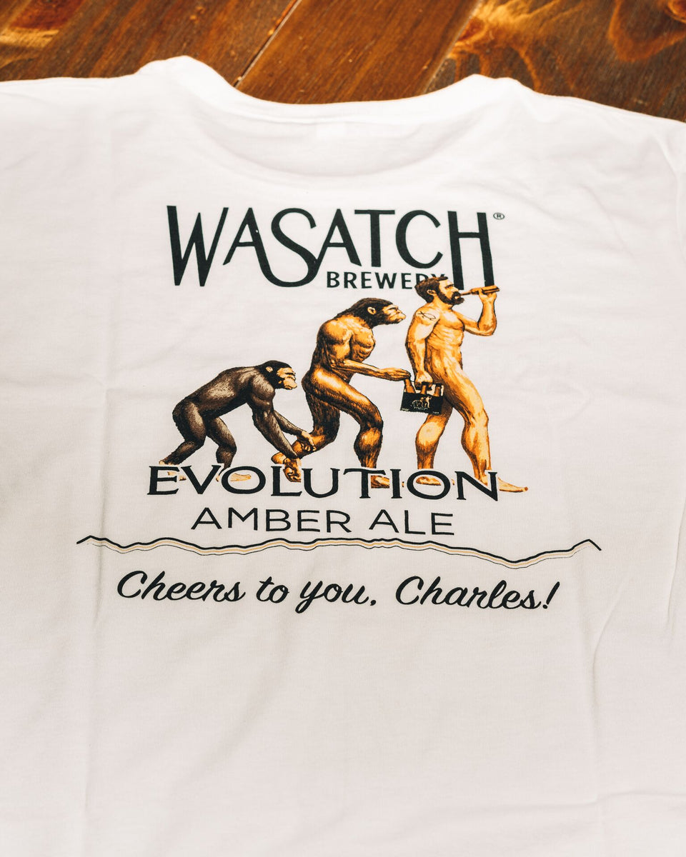 Evolution Amber Ale Tee