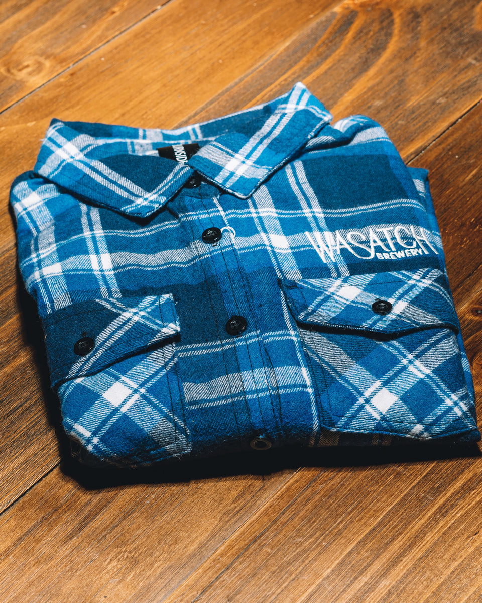 Wasatch Brewery Fitted Flannel