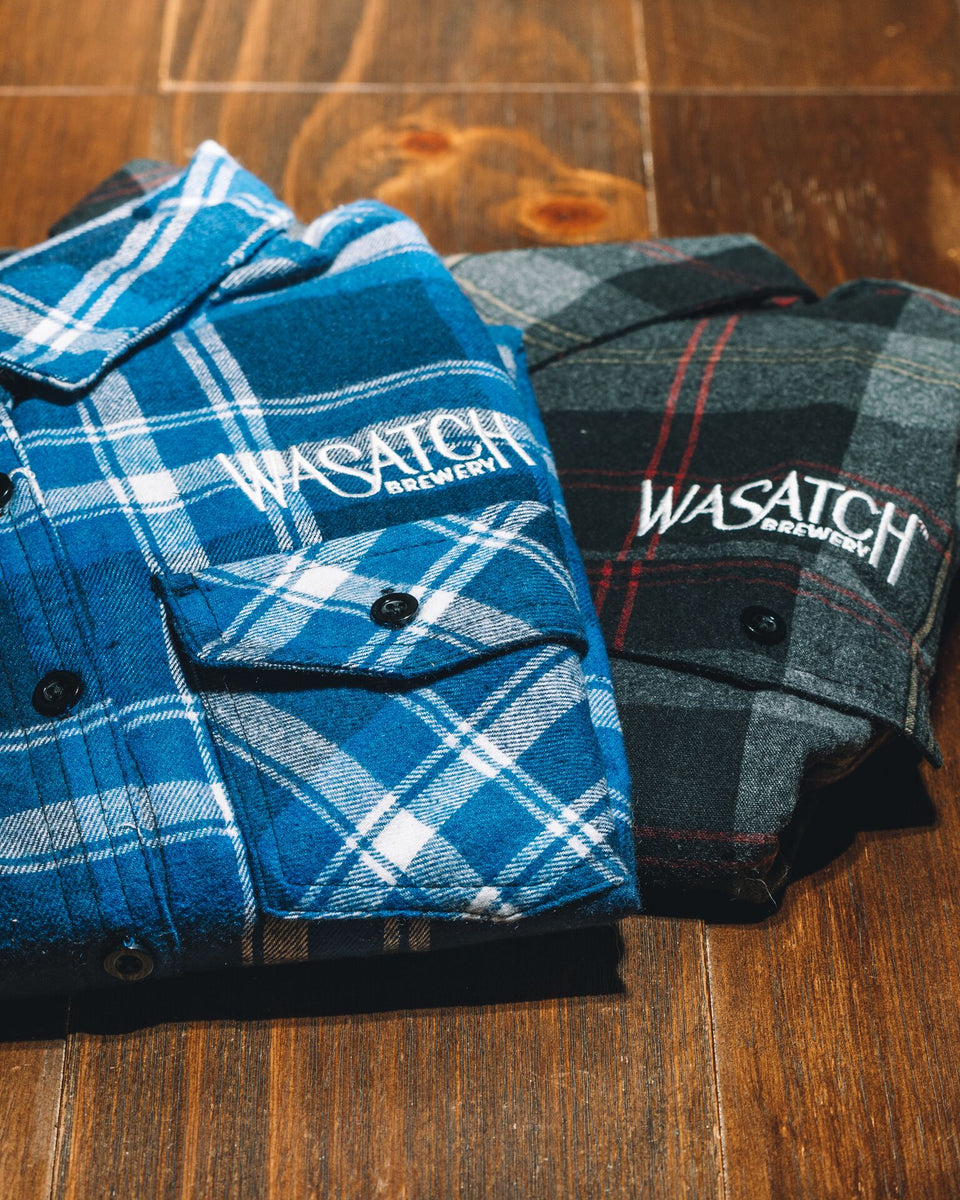 Wasatch Brewery Flannel