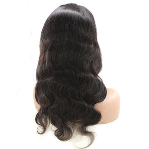 Peruvian Body Wave Full Lace Frontal Wig - HER VANITY HAIR