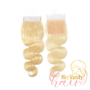 PLATINUM COLLECTION RAW PERUVIAN HD LACE CLOSURE - HER VANITY HAIR