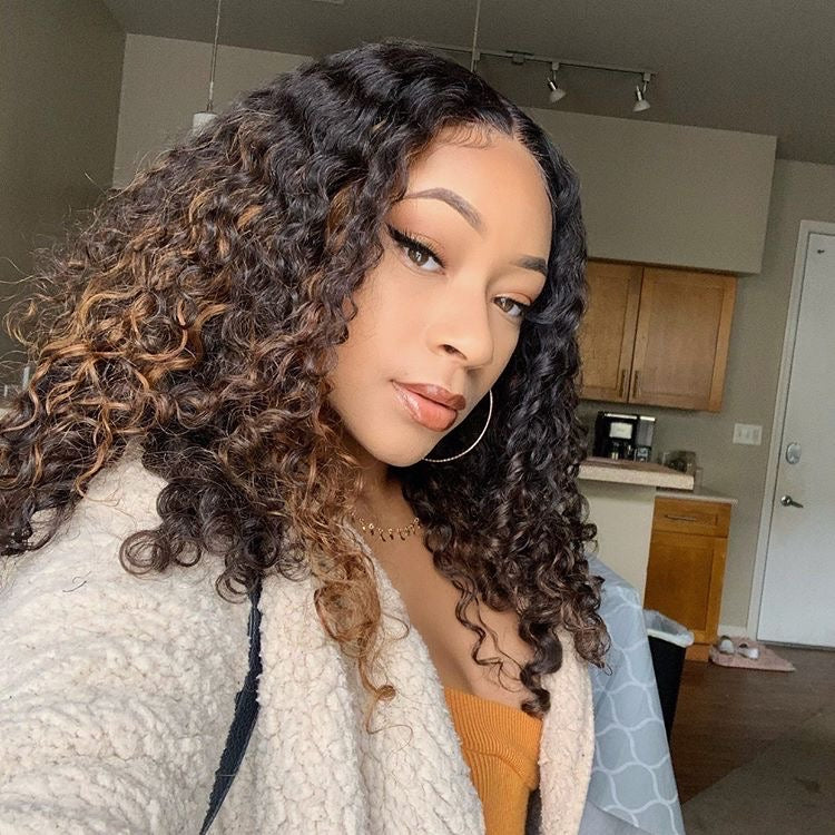 Peruvian Deep Wave Full Lace Frontal Wigs - HER VANITY HAIR