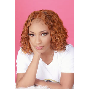 Peruvian Curly Full Lace Frontal Wig - HER VANITY HAIR
