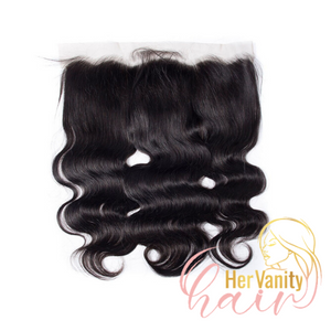 CURLY PERUVIAN HD LACE FRONTAL - HER VANITY HAIR