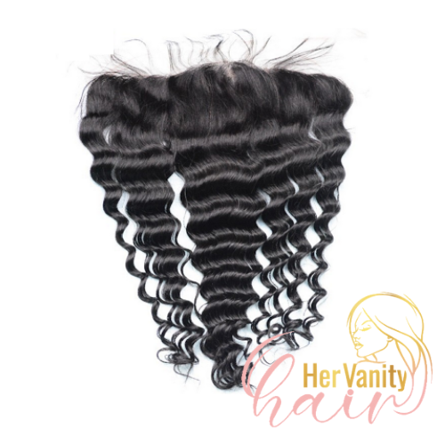 DEEP WAVE PERUVIAN HD LACE FRONTAL - HER VANITY HAIR