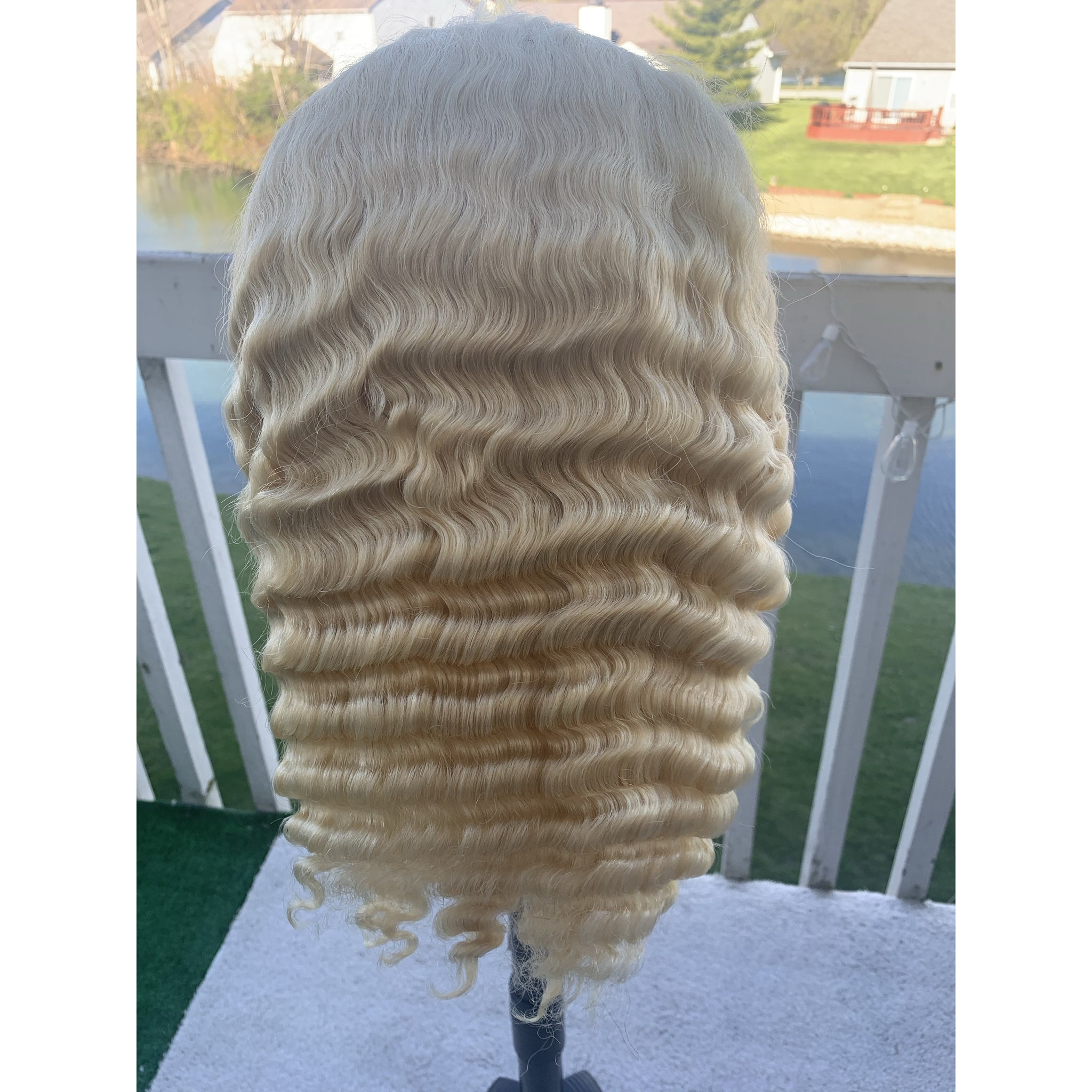 Peruvian Platinum Full Lace Frontal Wigs - HER VANITY HAIR