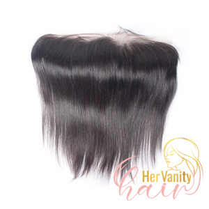 SLEEK STRAIGHT PERUVIAN HD LACE FRONTAL - HER VANITY HAIR