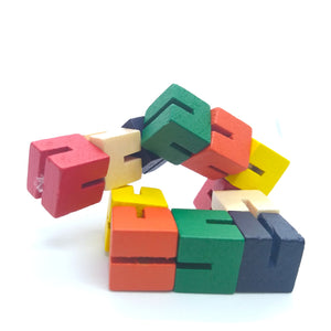 Wooden Twist And Lock Blocks