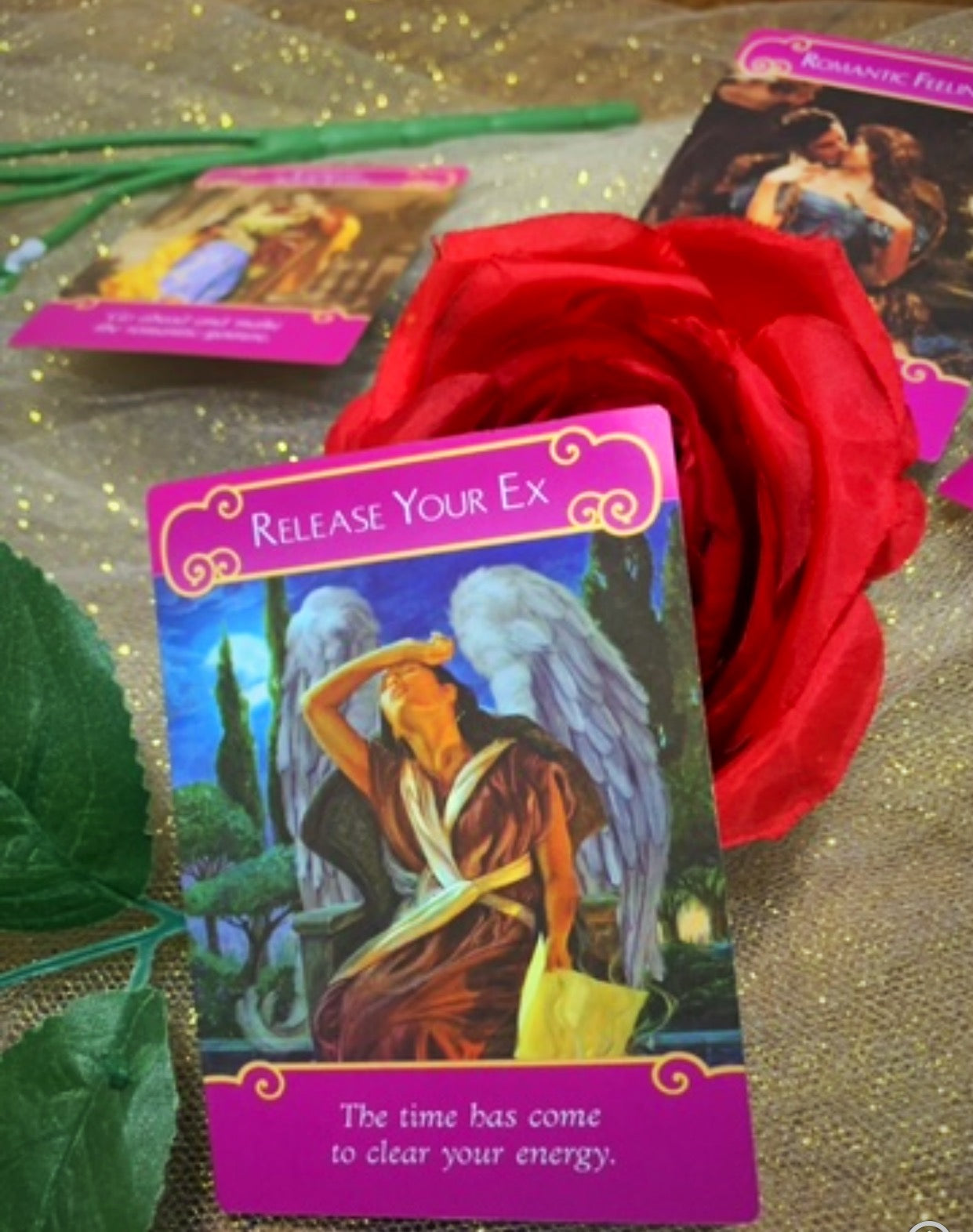 Romance Angels Love Reading - Nastradamus.Tarot