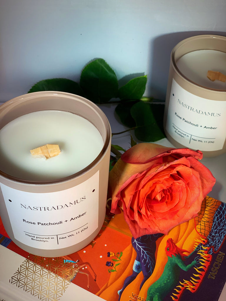 Nastradamus Simple + Sweet Candle - Nastradamus.Tarot