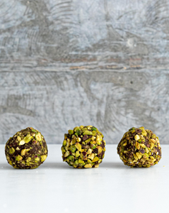 Vegan Chocolate & Pistachio Truffle - 3 Pieces (vg,n)