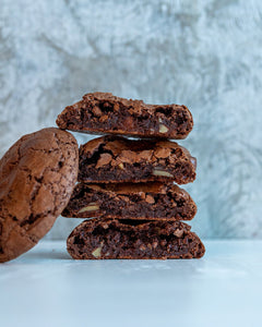 Flourless Dark Chocolate Cookie (gf) (n)