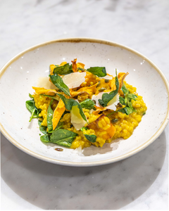 Pumpkin and Saffron Risotto