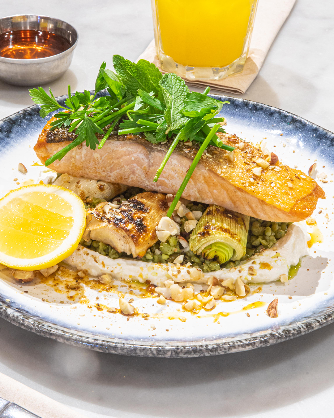 Moroccan Seared Salmon