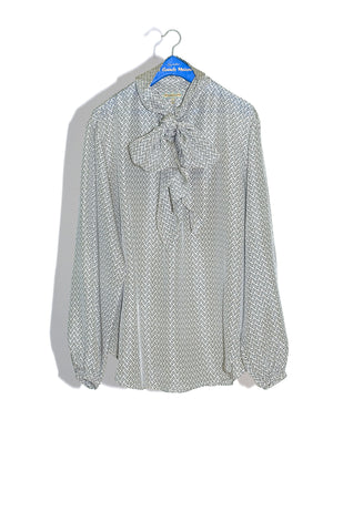 "SECRETARY'S BLOUSE IN ""MINI SKIN"" - 50% OFF"