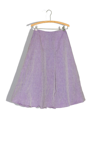 ROMANTIC BUBBLE SKIRT IN IRIDESCENT MATELASSE