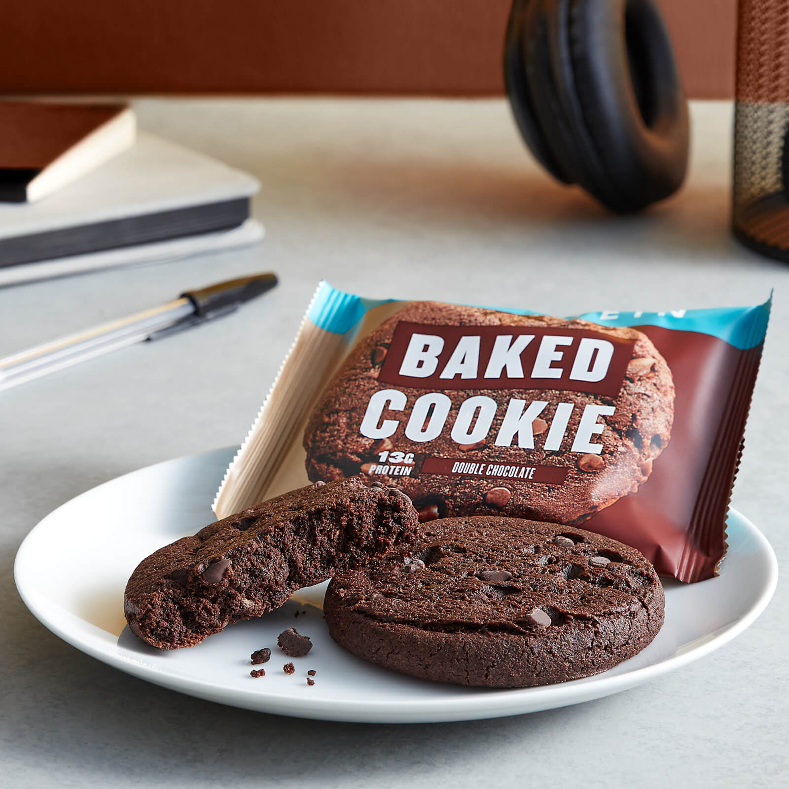 Myprotein Baked Protein Cookie, 13g Protein, Suitable for Vegans, Baked with Quality Ingredients, 3 - 12pcs