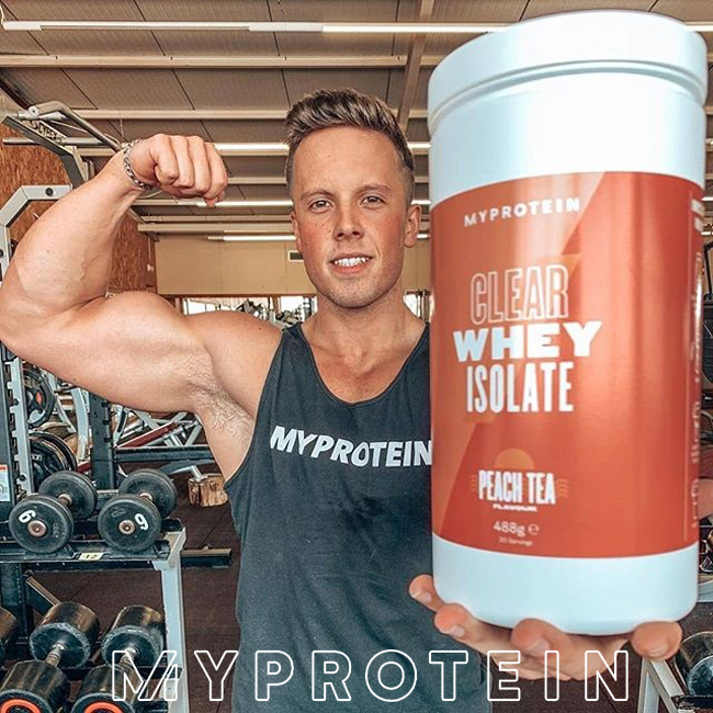 Myprotein Clear Whey Isolate Powder, Juicy Protein Shake, Fruity - Ultimate Sup