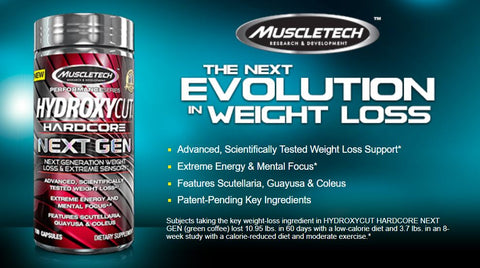 Hydroxycut Hardcore Next Gen Weight Loss Slim Body 0