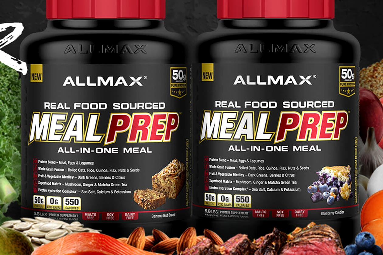 ALLMAX Nutrition, Real Food Sourced Meal Prep, Meal Replacement, All in One Meal, 5.6 lb (2.54 kg)