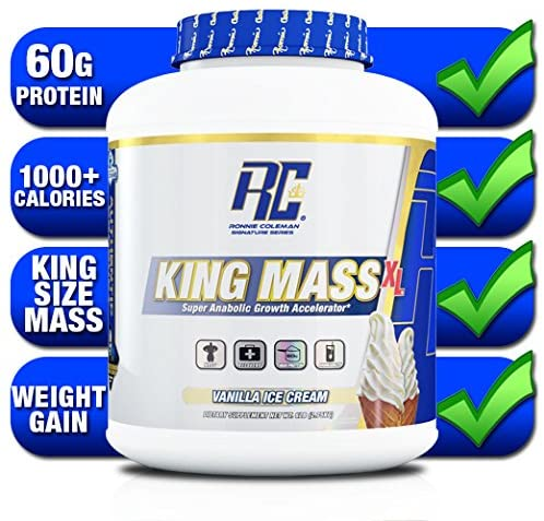 Ronnie Coleman Signature Series King Mass Gainer XL, 6-15lbs