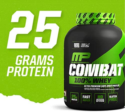 MusclePharm, Combat 100% Whey Protein, 5 lbs (2269 g)