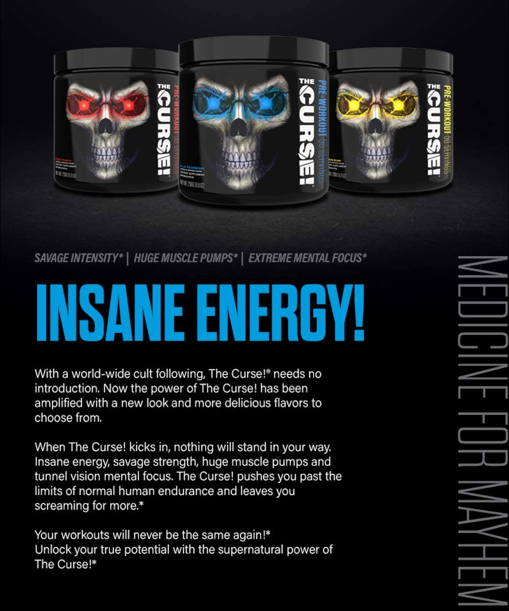 JNX Sports, The Curse, Pre Workout