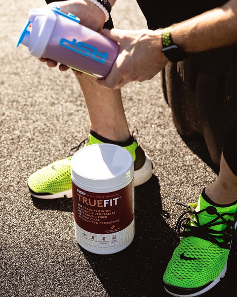 RSP Nutrition, TrueFit Meal Replacement, Grass-Fed Whey Protein Shake with Fruits & Veggies - Product