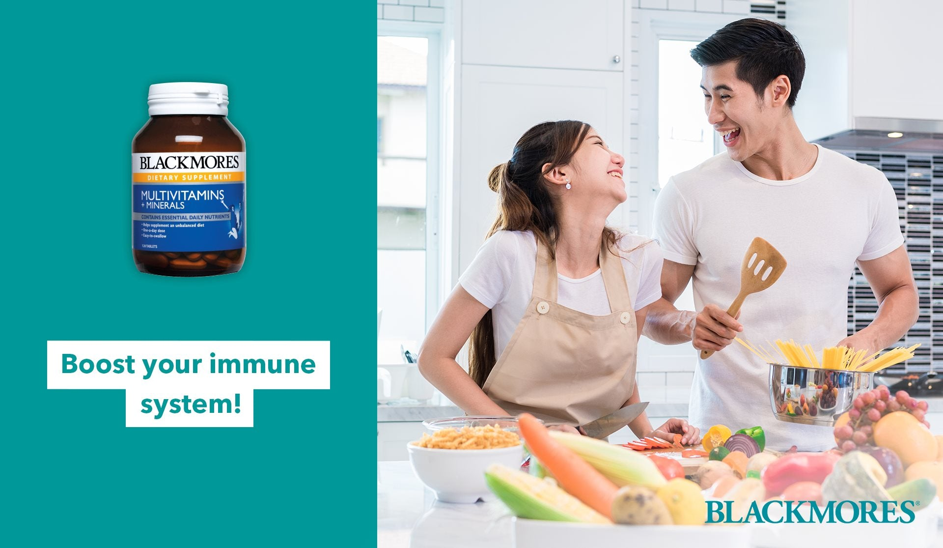 Blackmores Multivitamins + Minerals | Improve Immunity