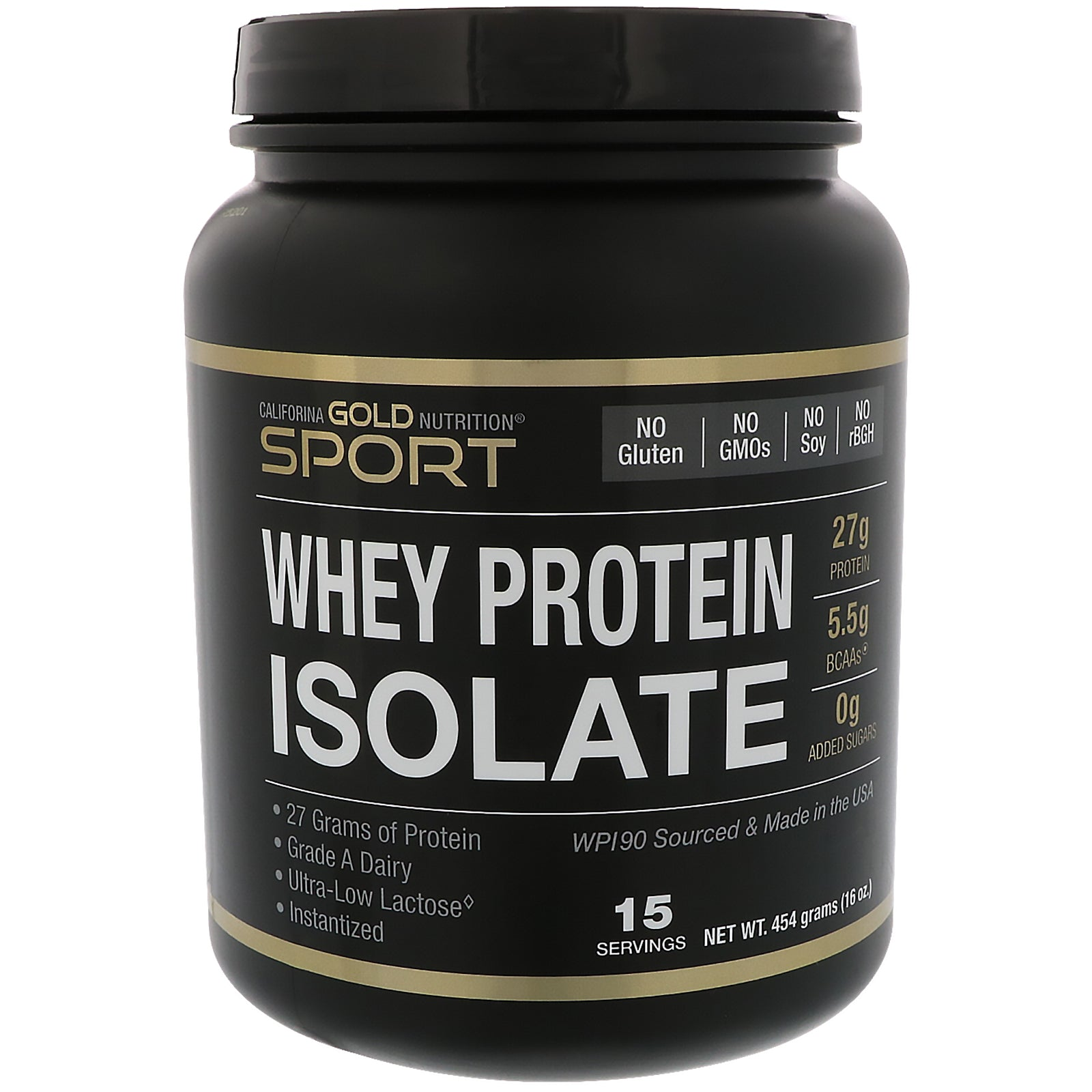 California Gold Nutrition Whey Protein Isolate
