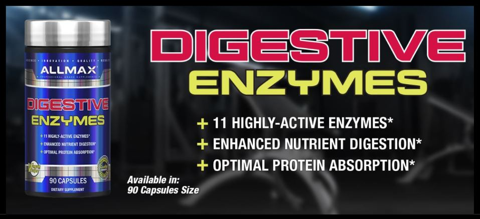 Allmax Nutrition Digestive Enzymes and Protein Optimizer 1
