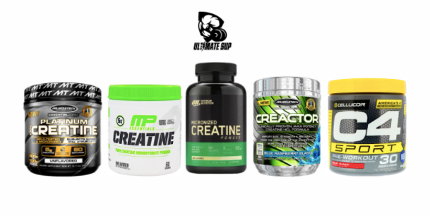 Creatine supplement collection - Ultimate Sup