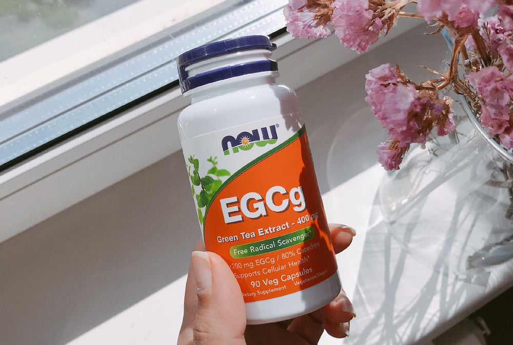 Now Foods EGCg - An excellent fat burner in Singapore