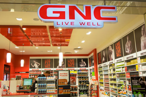 GNC supplement store
