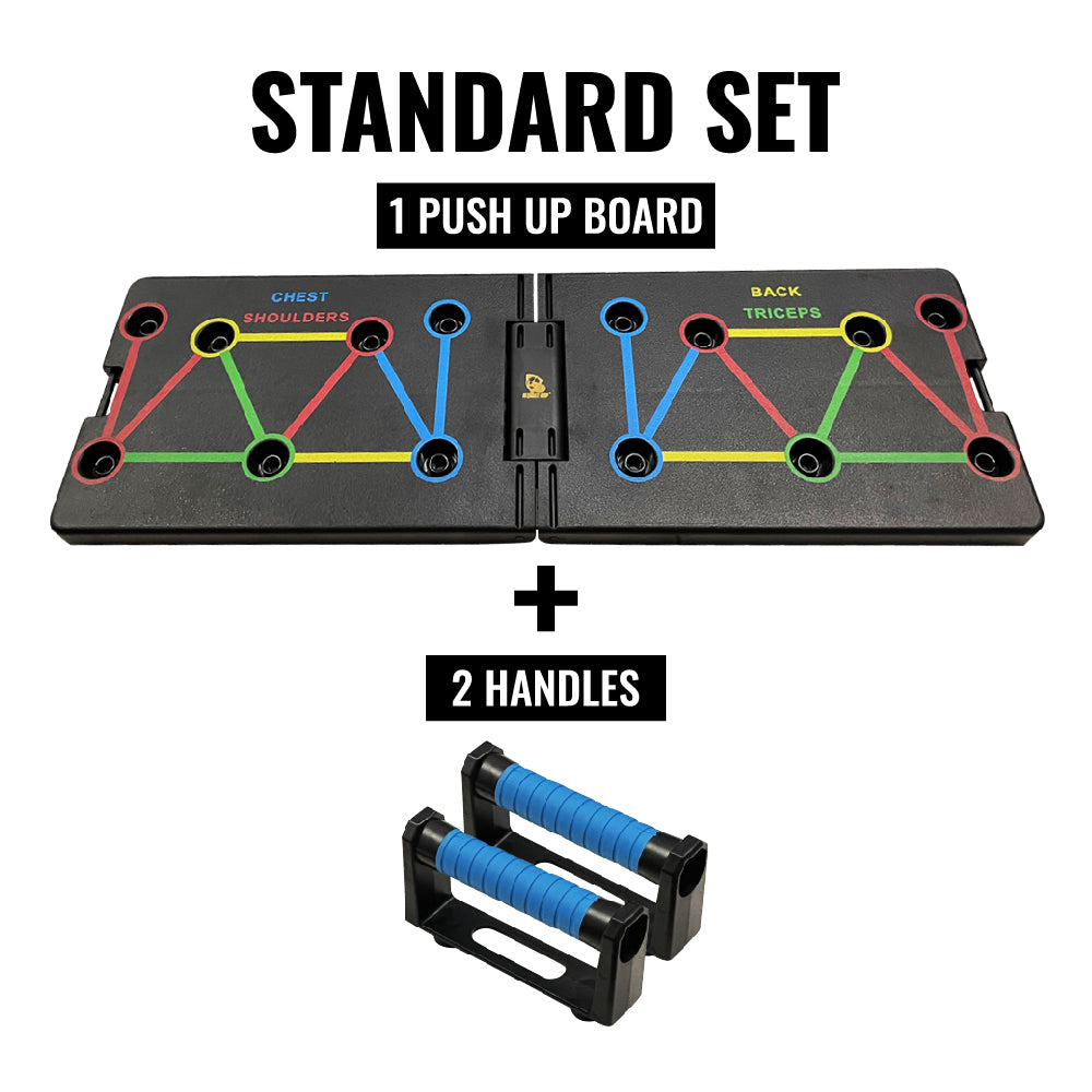 Ultimate Sup Foldable 16 In 1 Push Up Board | Train Different Body Parts |for Men & Women Home Gym