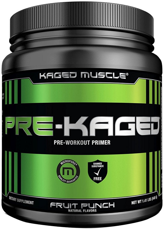 New formula from the Kaged Muscle Pre-Kaged to boost your performance - Ultimate Sup