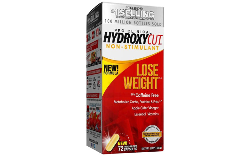 Pro Clinical Hydroxycut Non-Stimulant supports effective fat loss with vitamin B - Ultimate Sup