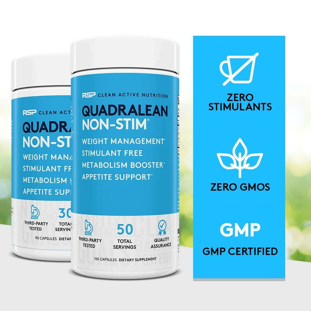 QuadraLean provides a great support for your weight loss