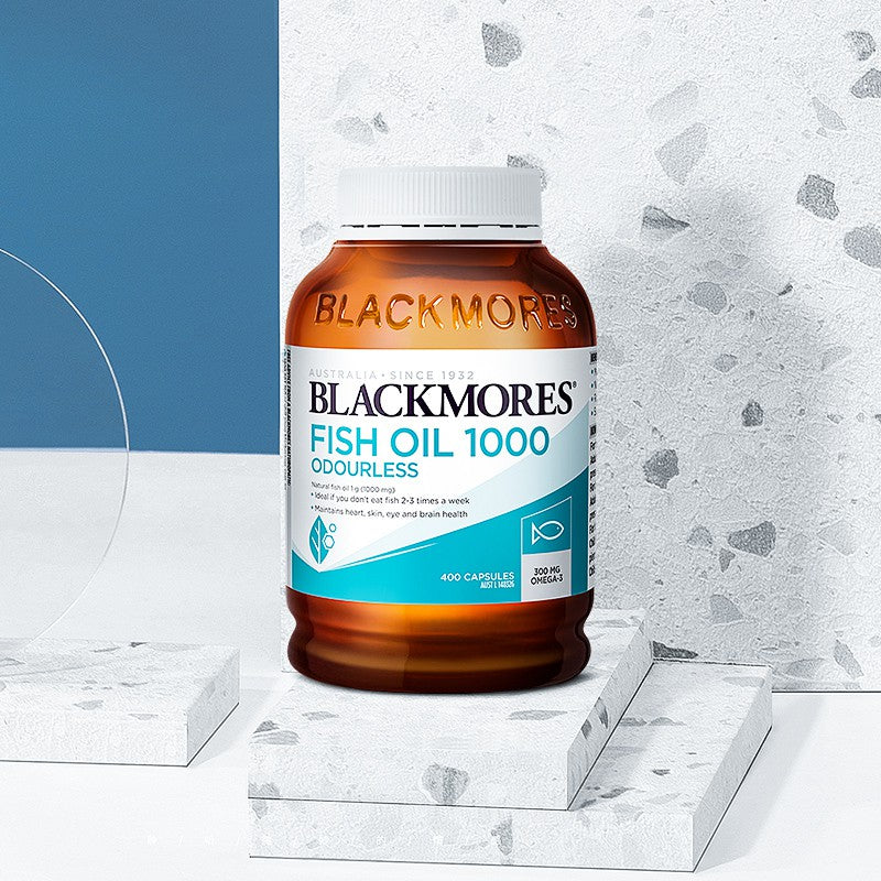 Blackmores Odourless Fish Oil 1000mg 400cap New Packaging