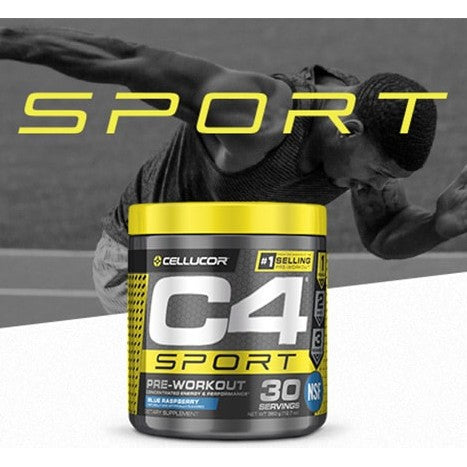 Cellucor C4 SPORT Pre Workout Powder | PreWorkout Energy NSF-CERTIFIED | 135mg Caffeine + Creatine Monohydrate - Ultimate Sup