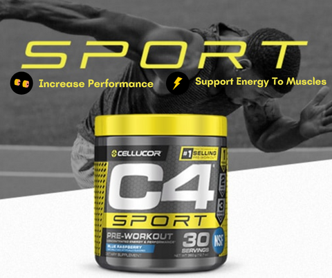 C4 Sport is a quick boost, giving you an optimized exercise - Ultimate Sup